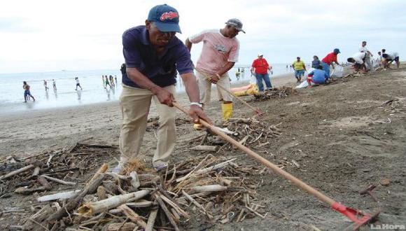 Paracas aprueba el primer plan para acabar con la basura marina