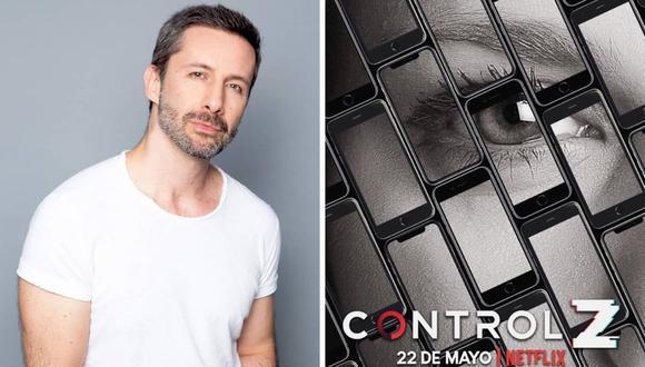 """El actor Marco Zunino interpretará al padre de uno de los protagonistas de la serie """"Control Z"""". (@marcozunino_of)."""
