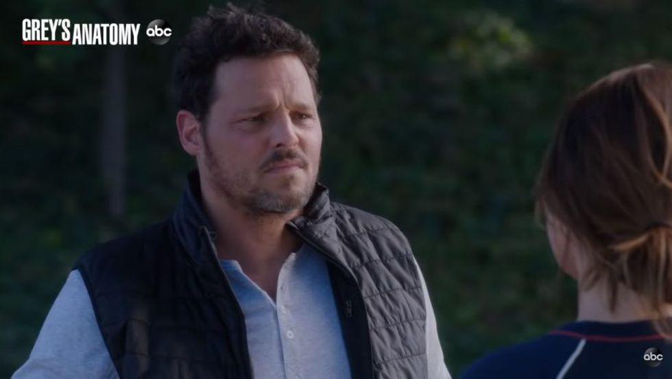 Alex siente que está perdiendo a Jo (Foto: Grey's Anatomy / ABC)