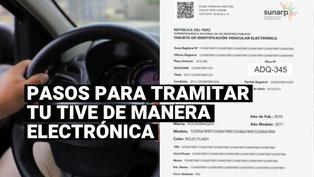Sunarp: conoce cómo tramitar nueva Tarjeta de Identificación Vehicular Electrónica