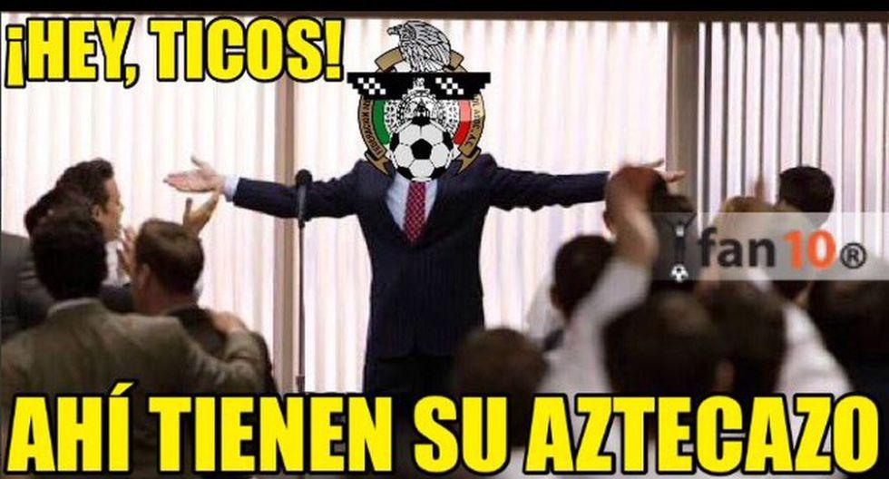 México venció 2-0 a Costa Rica: memes se burlan de Chicharito - 7