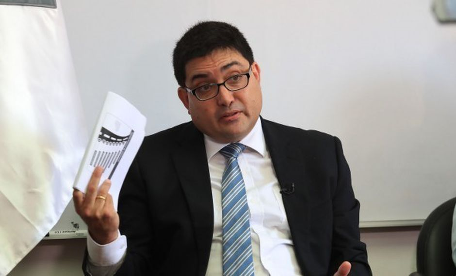 Procurador Jorge Ramírez suscribió el convenio de colaboración eficaz con Odebrecht. (Foto: GEC)