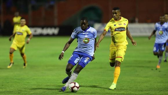 Barcelona de Guayaquil y Macará se repartieron puntos. Ninguno de los dos pudo vulnerar la valla contraria. El partido se dio por la segunda jornada de la Serie A de Ecuador. (Foto: Marcador)