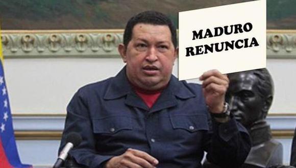 """Chavismo dice que hay una """"guerra memética"""" contra Maduro"""