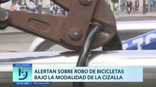 Así puedes evitar el robo de tu bicicleta en las calles
