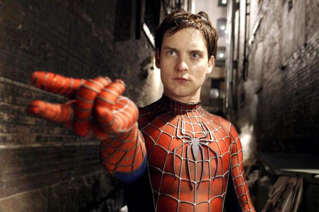 Tobey Maguire is remembered for playing Peter Parker in the Spider-Man trilogy directed by Sam Saimi (Photo: Sony Pictures)