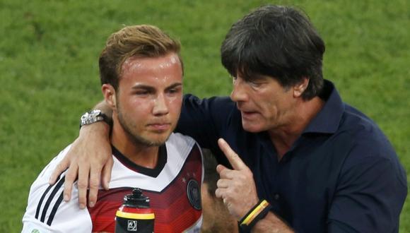"Löw a Götze: ""Muestra al mundo que eres mejor que Messi"""