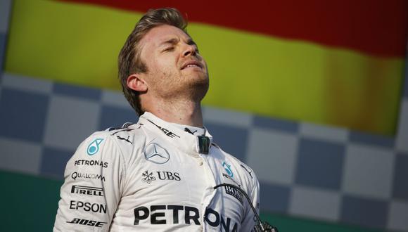 Rosberg alcanzo su victoria número 15 en la Fórmula 1. (Fotos: DPPI)