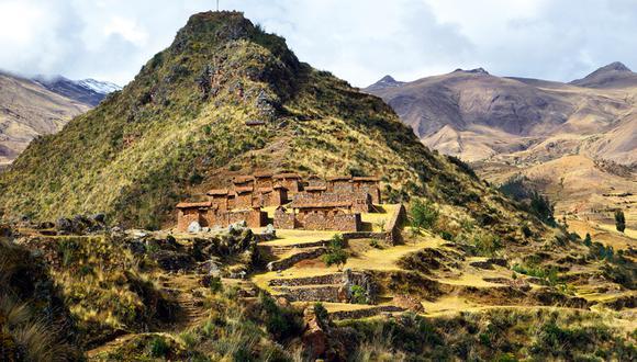 Machupitumarca ('Pitumarca Viejo') fue un centro administrativo y militar que controlaba el acceso al valle. La parte inferior de la estructura es de piedra y la superior, de adobe. (Foto: Martín Chumbe)