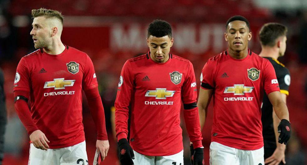 Manchester United no pasó del empate sin goles frente al Wolverhampton por la Premier League | Foto: Reuters