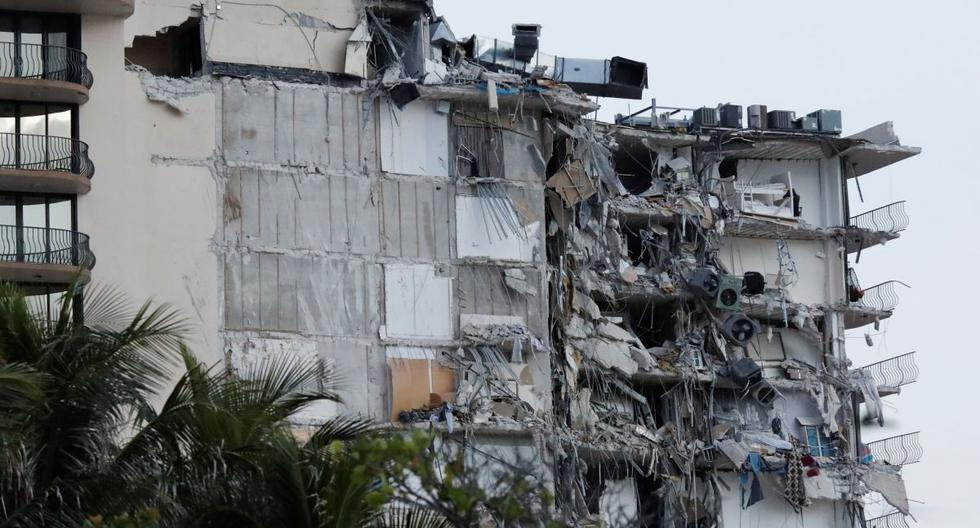 At least one died in a partial collapse of an apartment building in Miami