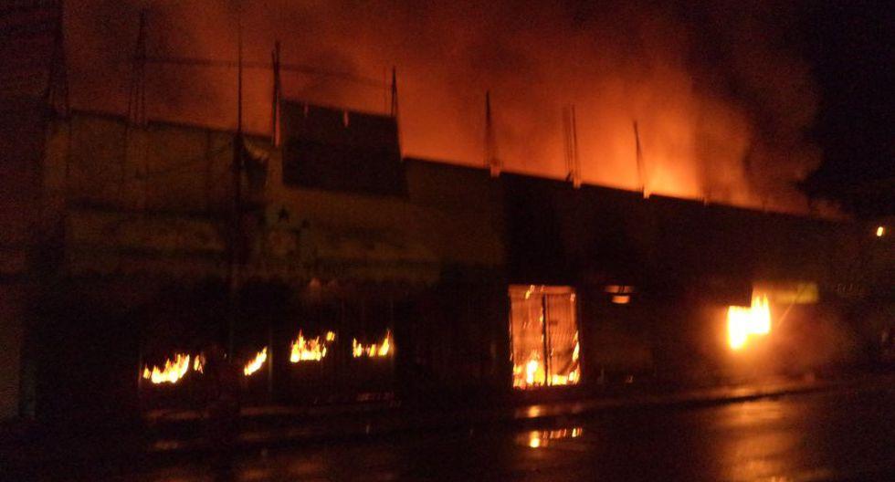Incendio en Villa El Salvador: así quedó el mercado afectado - 2