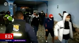 Villa el Salvador: más de 80 detenidos por participar en una fiesta clandestina
