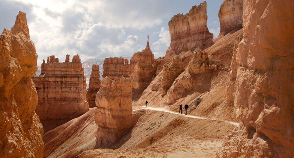 El Cañón Bryce es un lugar con imponentes 'chimeneas' gigantes - 2