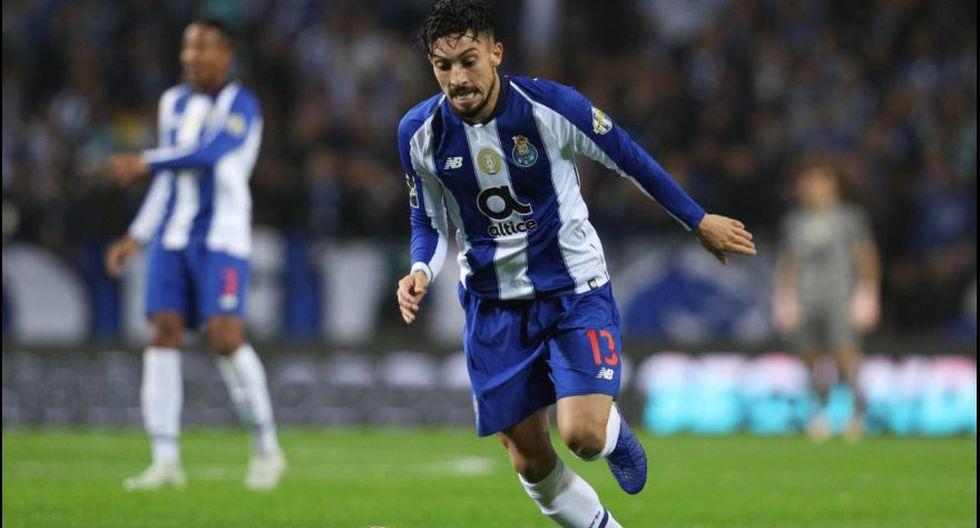 Alex Telles - Porto de Portugal.  (Foto: AFP).