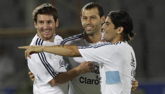 Argentina con Lionel Messi pero sin Banega ni José Sosa
