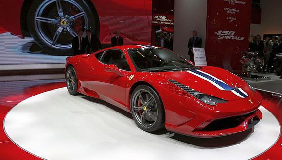 Ferrari incrementará producción para atender demanda de autos