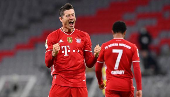 Revive los goles de Robert Lewandowski en el Bayern Múnich vs. Borussia Dortmund | Foto: EFE