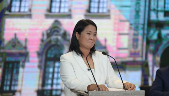 Keiko Fujimori, candidata de Fuerza Popular. (Foto: GEC)