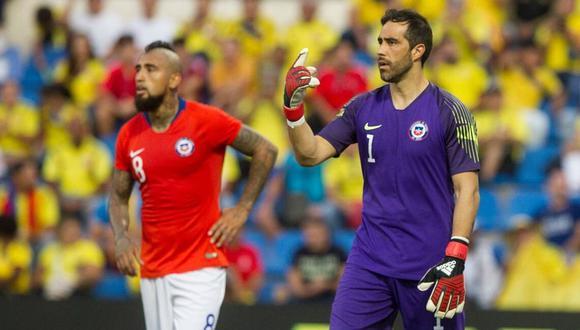 Los problemas entre Arturo Vidal y Claudio Bravo no tiene  solución en en la selección de Chile