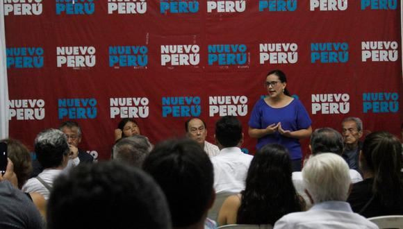 Verónika Mendoza encabeza Nuevo Perú. (Foto referencial: Nuevo Perú)