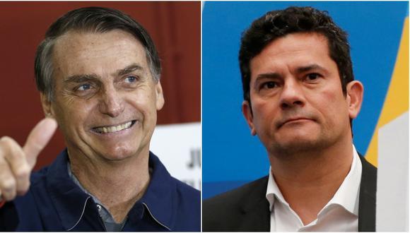 Brasil: Ultraderechista Jair Bolsonaro quiere a juez Sergio Moro en Supremo (Foto: AP / Reuters)