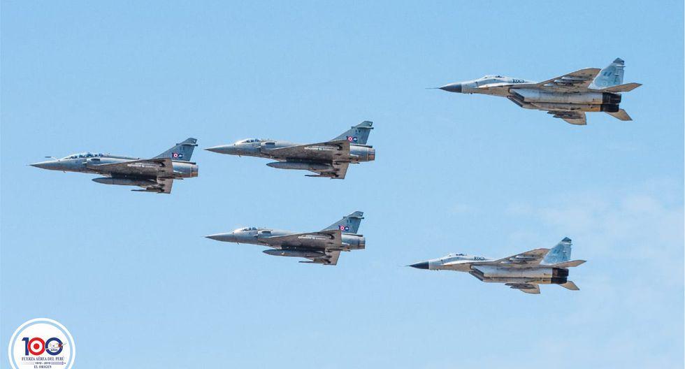 (Foto: Facebook Fuerza Aérea del Perú)