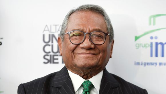 Armando Manzanero falleció en la madrugada de este 28 de diciembre, víctima del COVID-19. (Foto: AFP)