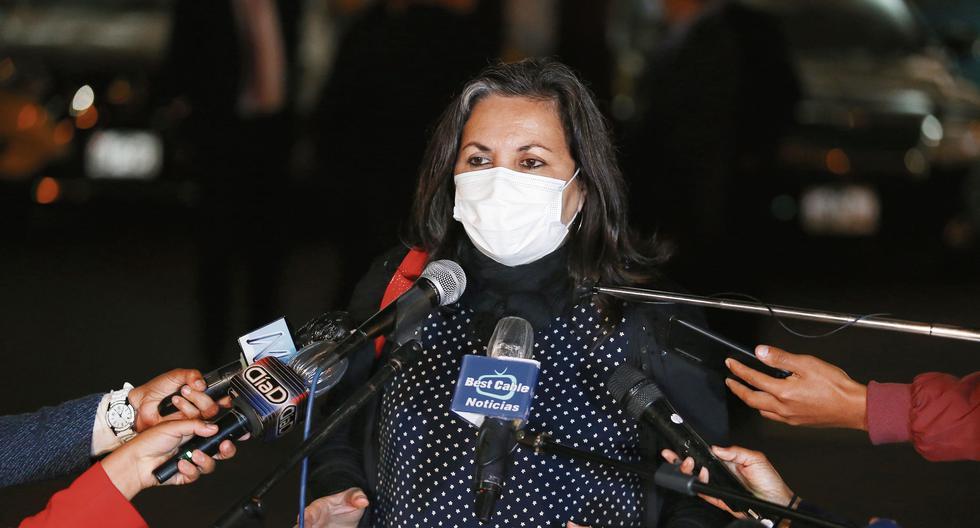 Rocío Silva Santisteban encabezó la lista para ser la siguiente presidenta del Perú, pero no alcanzó los votos requeridos. (Foto: Congreso)