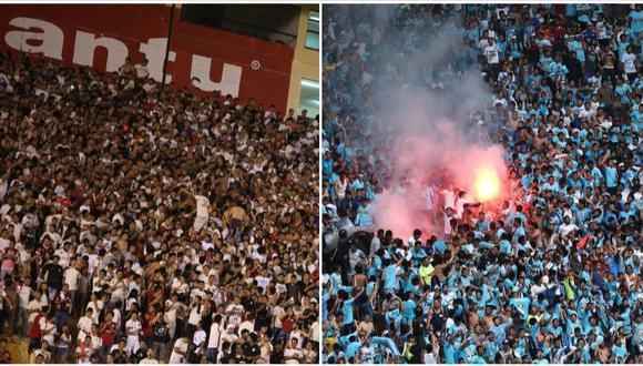 Universitario de Deportes y Sporting Cristal se enfrentaron semanas atrás y esto provocó desmanes y atentados contra la propiedad privada por partes de ambas barras. (Foto: USI)
