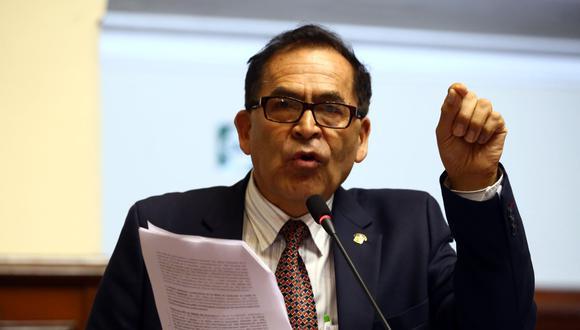 Alberto Quintanilla (Foto: Congreso)
