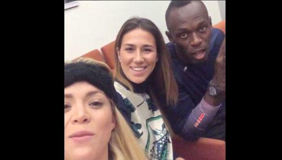 Sheyla Rojas compartió imágenes de su encuentro con Usain Bolt