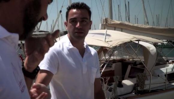 Xavi Hernández donó su barco para ayudar a refugiados [VIDEO]