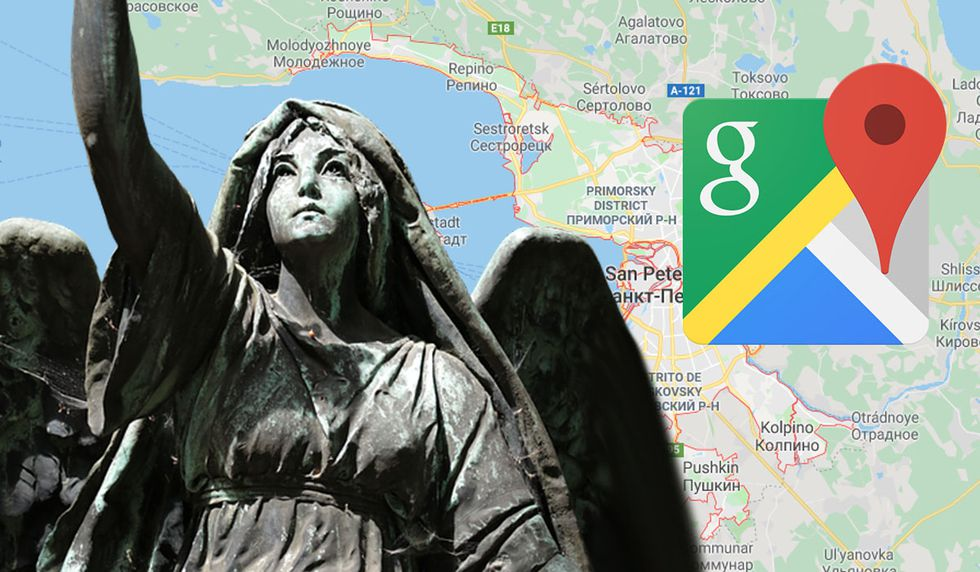 ¿Realmente Google Maps captó un ángel? Imagen genera curiosidad en cibernautas.