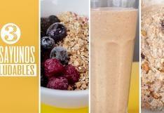 [VIDEO] Tres desayunos super potentes para corredores