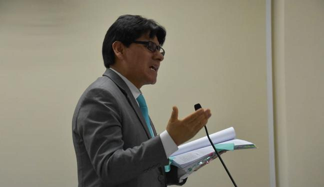 El fiscal Hamilton Montoro también continuará apoyando al tercer despacho del equipo especial Lava Jato. (Foto: Difusión)