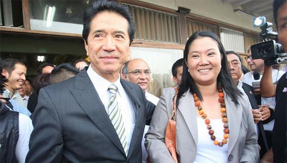 Jaime Yoshiyama, en el 2011, era secretario general de Fuerza 2011 y candidato a la vicepresidencia de Keiko Fujimori. (Foto: USI)