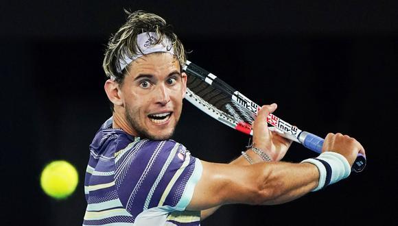 Por primera vez en su carrera, Dominic Thiem logra vencer a Rafael Nadal en un Grand Slam. (Foto: EFE).