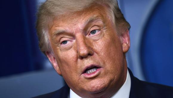 """Donald Trump responde a críticas de Barack Obama y dice que fue un presidente """"espantoso"""" (Foto: Brendan Smialowski / AFP)."""