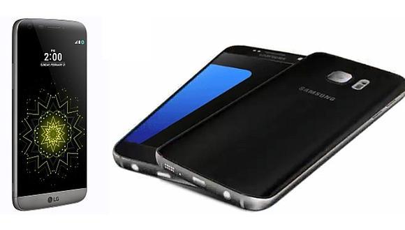 Nuevos teléfonos de Samsung y LG llegarán en marzo y mayo
