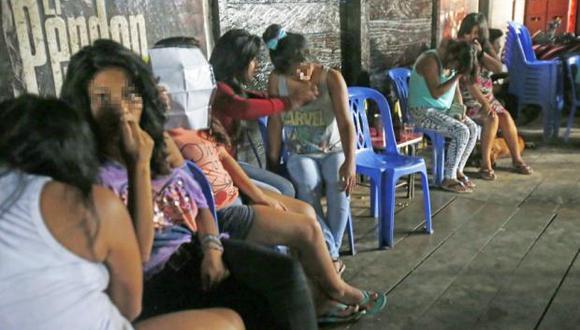 En los últimos años, la policía y el Ministerio Público han rescatado a decenas de mujeres, víctimas de trata, que son explotadas sexualmente en las zonas de minería ilegal en Madre de Dios y otras regiones (Foto: archivo)
