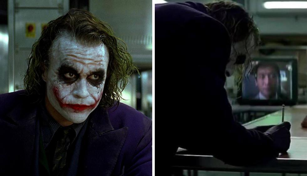 El actor que participó junto a Heath Ledger en la memorable escena de The Dark Knight contó cómo se logró el increíble truco de magia. (Fotos: Warner Bros)