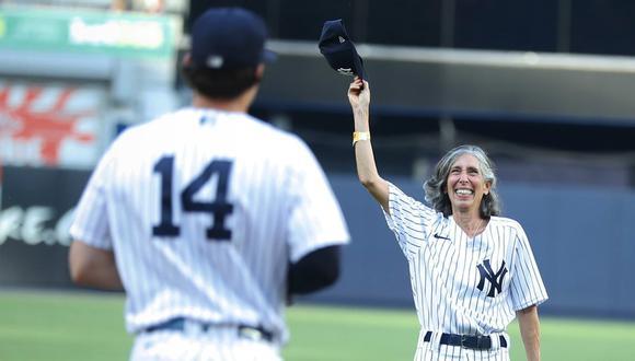 Gwen Goldman fue invitada dar el lanzamiento inicial en un partido de los New York Yankees. (Foto: Twitter Yankees)