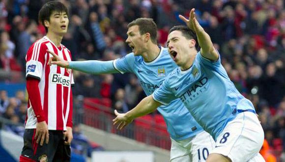 El City ganó 3-1 a Sunderland y es campeón de Copa de la Liga