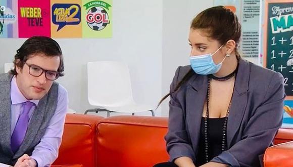 Isabel Chappell interpreta a Miluska Linares en la serie de América TV (Foto: Isabel Chappell/Instagram)