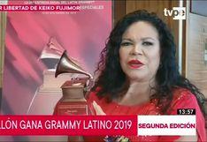 Latin Grammy 2019: Eva Ayllón recibió premio a la excelencia musical