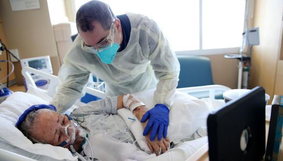 Coronavirus en Estados Unidos   Últimas noticias   Último minuto: reporte de infectados y muertos hoy, jueves 18 de febrero del 2021   Covid-19. (Foto: Mario Tama/Getty Images/AFP).