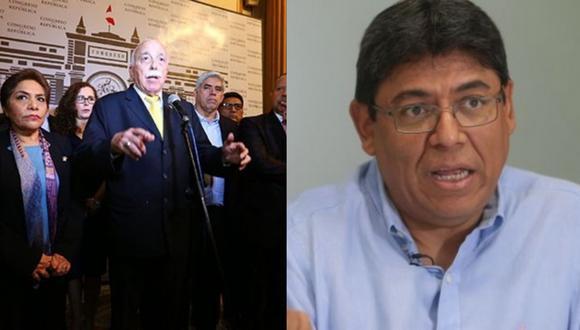 (Fotos: Congreso/El Comercio)