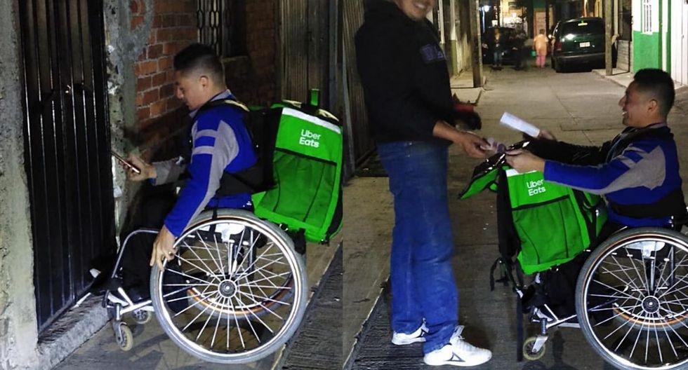 Él es Dany, un joven mexicano que se ha convertido en viral por sus ganas de superación  (Foto: Facebook)