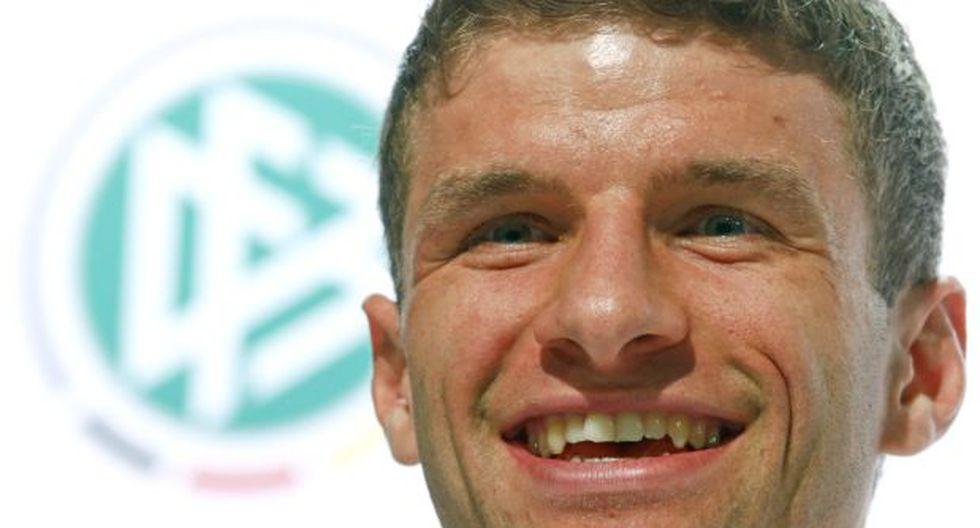Thomas Müller nunca ha perdido un partido oficial contra Messi